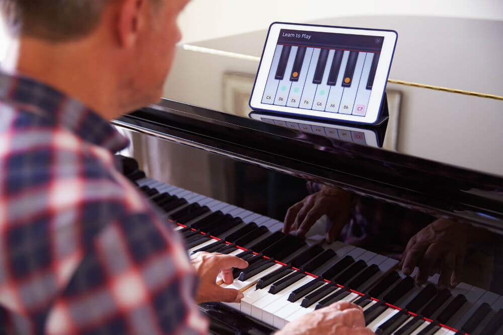 9 best keyboards to learn piano of 2019 blue buzz music. Black Bedroom Furniture Sets. Home Design Ideas