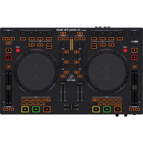 Behringer CMD Studio 4A - best starter midi dj controller for scratching