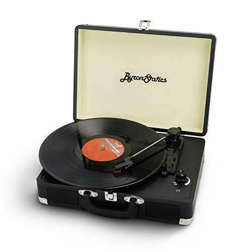 Byron Statics - best small cheap vintage turntable for audiophiles under 200