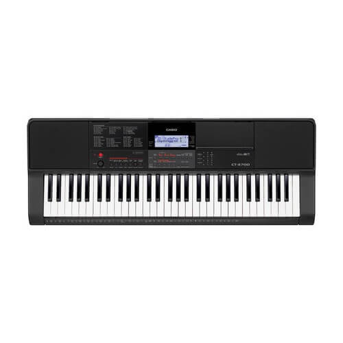 Casio CTX700 - best portable keyboard with weighted keys for beginners