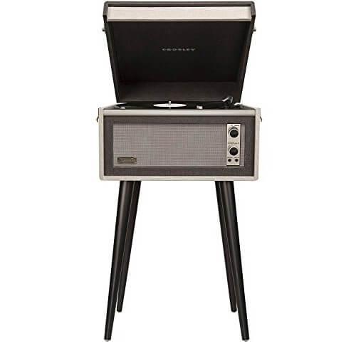 Crosley CR6233D-BK - best portable vintage bluetooth wireless turntable under 200 dollars