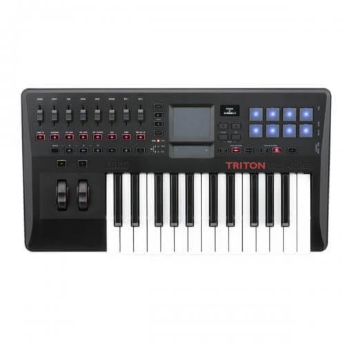 Korg Triton Taktile 25 - best midi keyboard for beginners for under 200