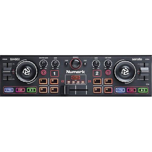 Numark DJ2GO2 - best cheapest starter dj controller under 100 dollars