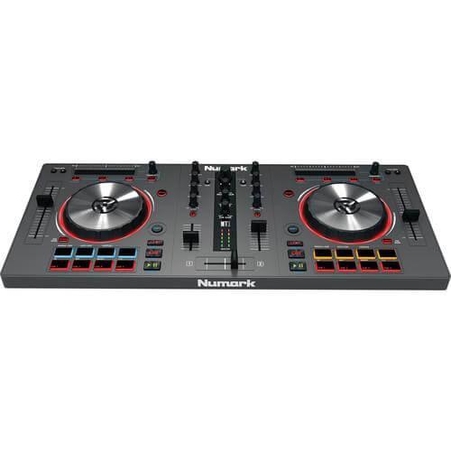 Numark Mixtrack 3 - best dj controllers for beginners under 1000
