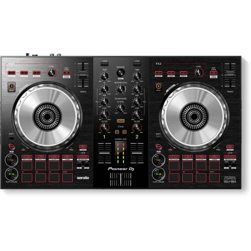 Pioneer DJ DDJ-SB3 - best starter deck controller for djing under 500 dollars