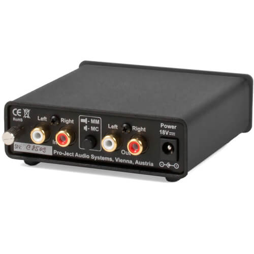 Pro-Ject Audio Phono Box - best small durable phono preamp under 500