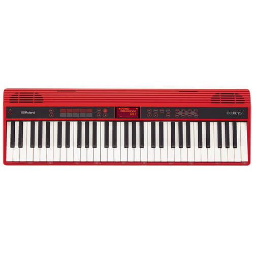 Roland GO Keys - best portable piano keyboard for travel
