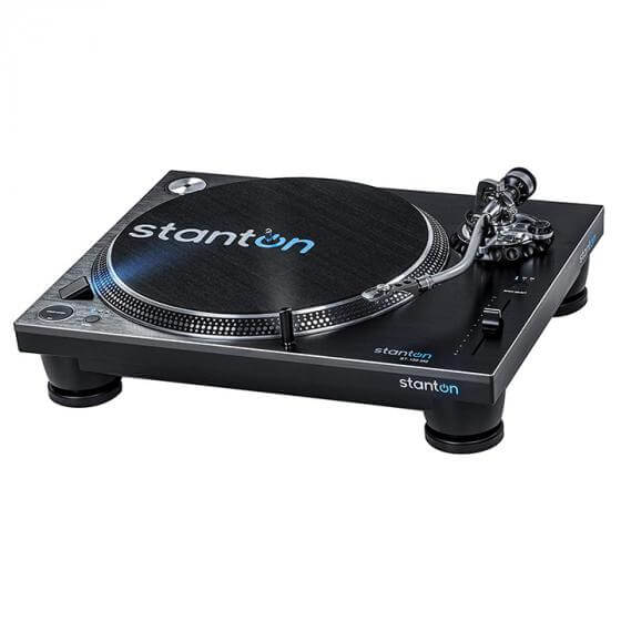 Stanton STR8-150 MKII - best analog and digital turntable for scratching djing