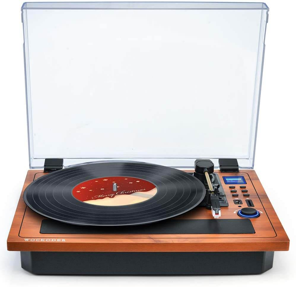 Wockoder - best vintage audiophile turntable for listening to music