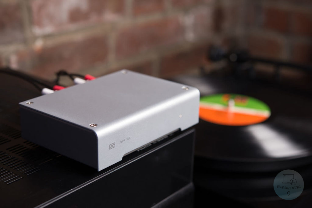 how to connect a turntable to a receiver without phono input