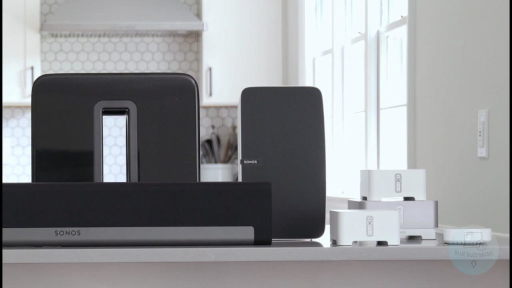 multi room speaker system for appartment and house