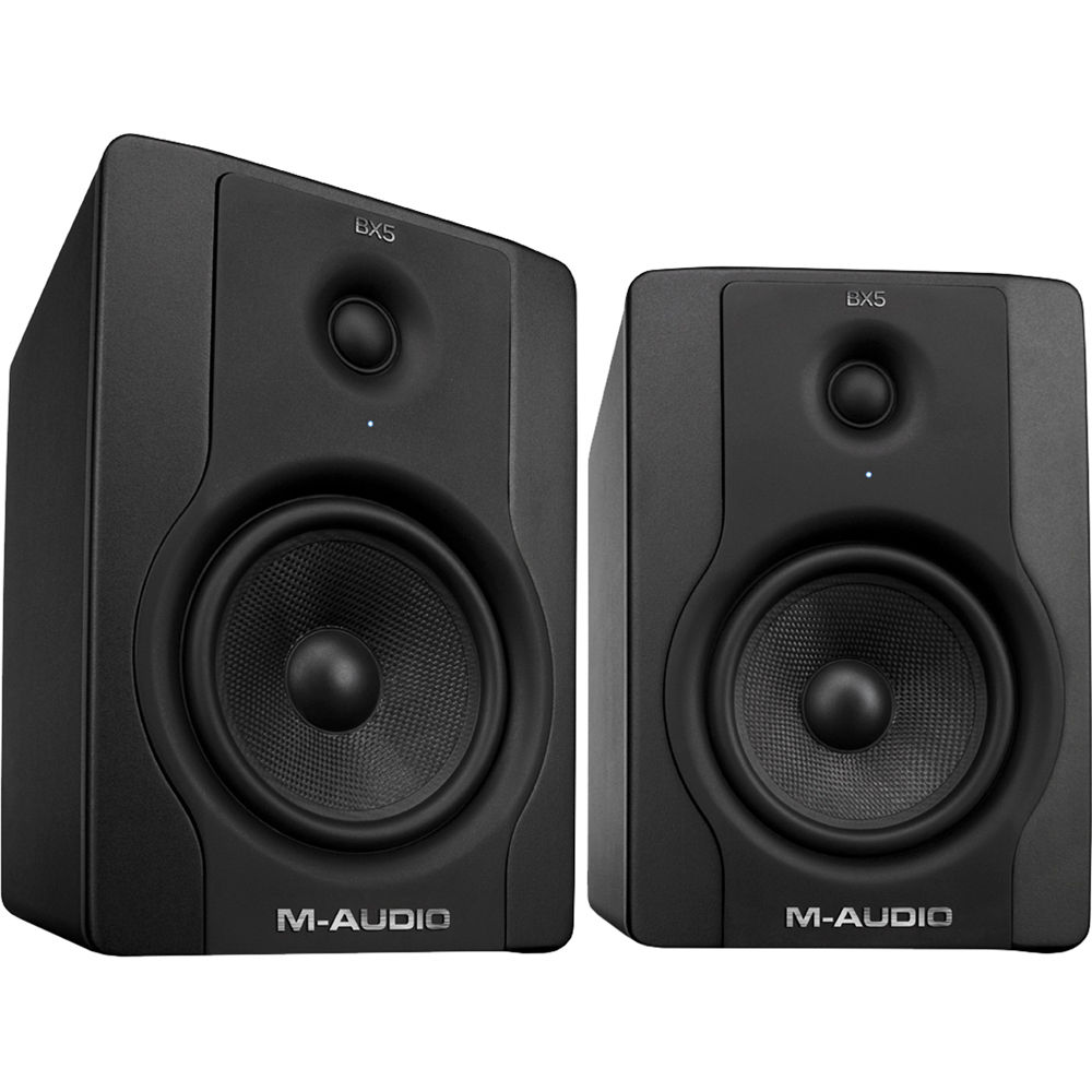 M-Audio BX5 Carbon Black studio monitors