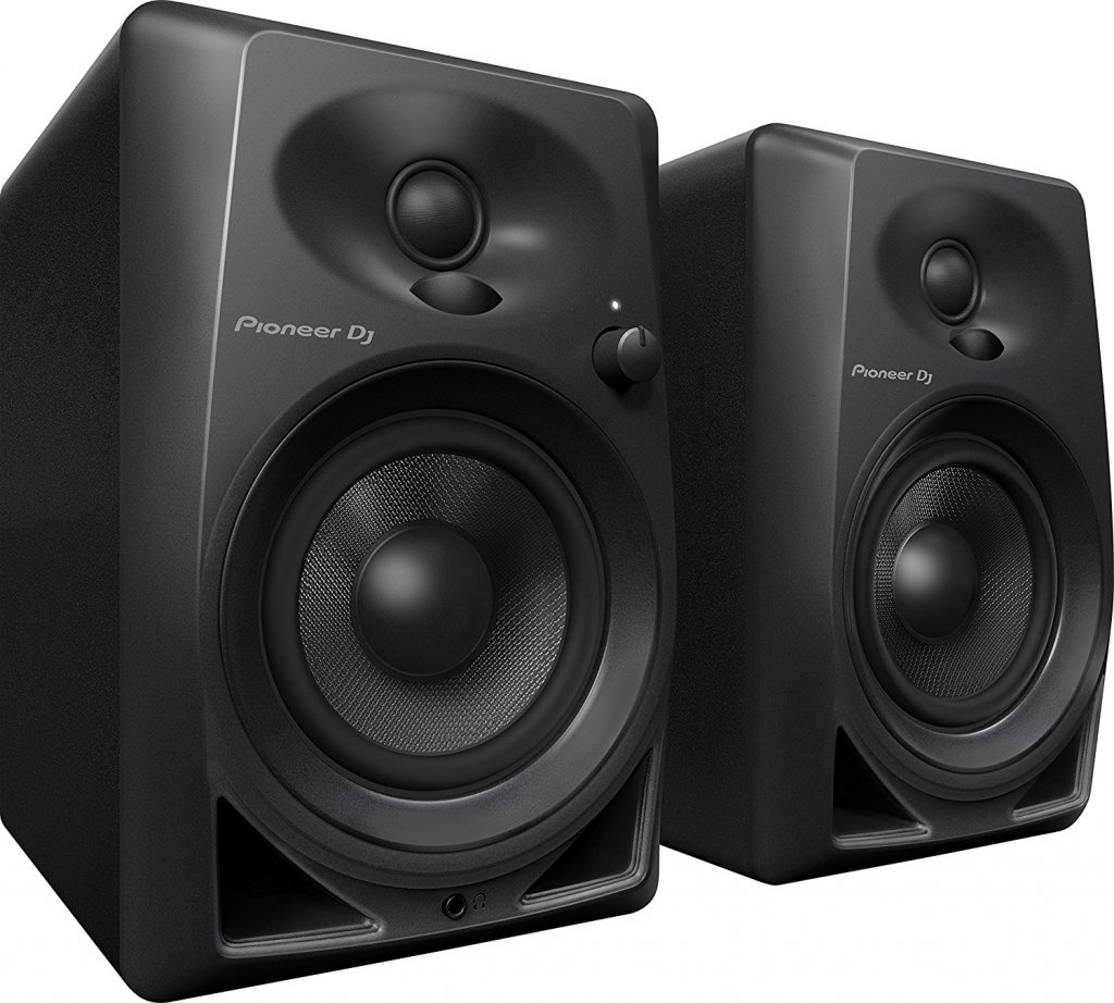 Pioneer DJ DM-40 black studio monitors