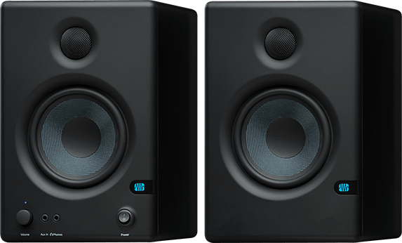 PreSonus Eris E4.5 black studio monitors