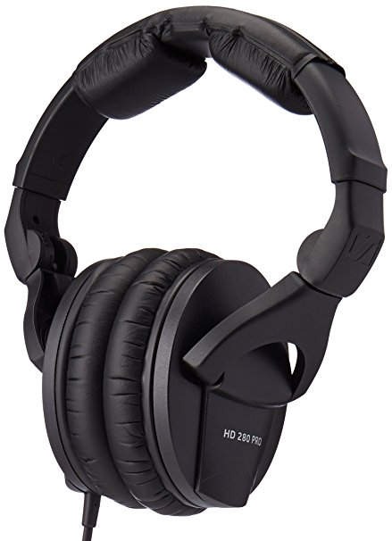 Slick design, comfortable during the long sessions in the studio, one of the best headphones for beginners, not that good for professionals