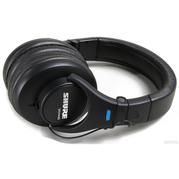 ShureSRH440 are one of the best headphones to start with