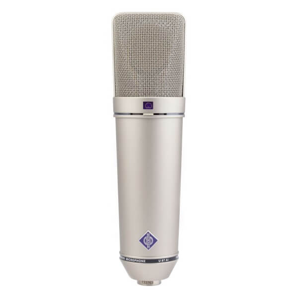 is Neumann U 87 Ai best condenser microphones for home studio
