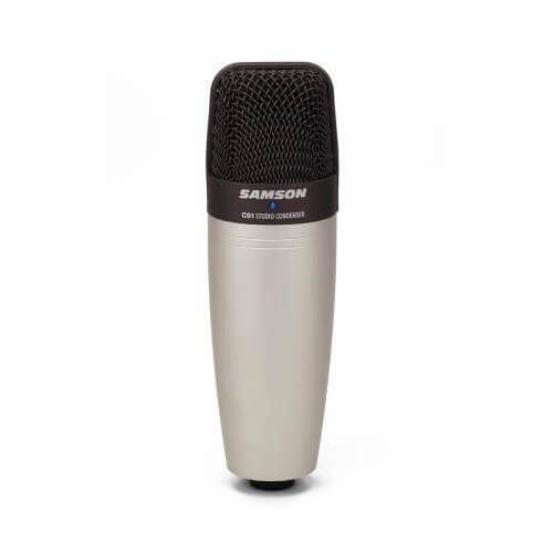 is Samson C01U Pro best condenser microphone for podcasting