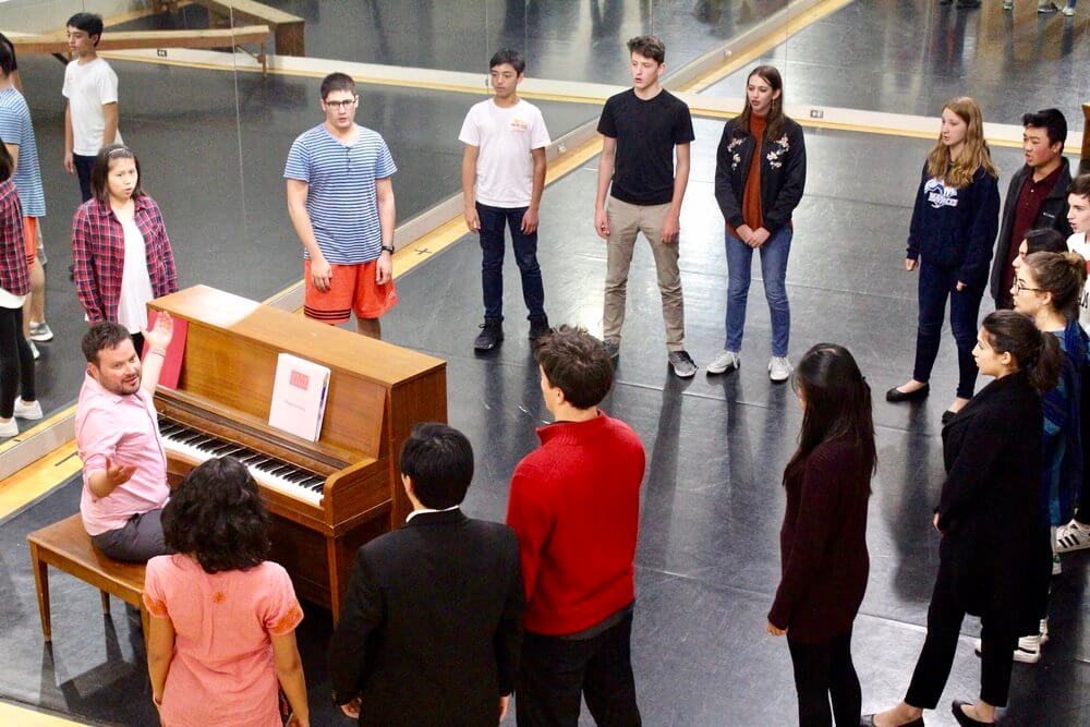 find a group to practice opera together