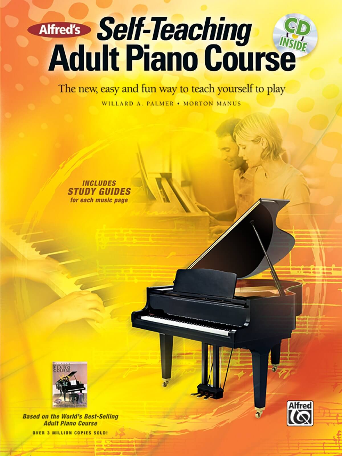 alfred s self teaching adult piano course blue buzz music. Black Bedroom Furniture Sets. Home Design Ideas