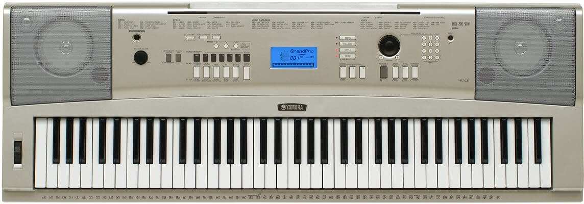 Yamaha YPG-235 76-Key Digital Keyboard