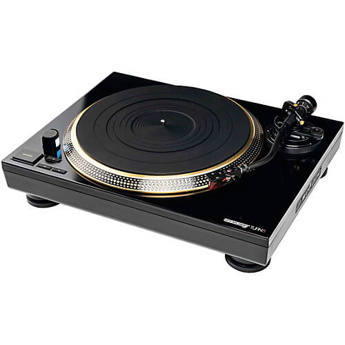 turntable system for beginner DJ setup