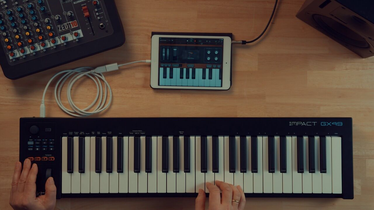 HOW DOES A MIDI CONTROLLER WORK