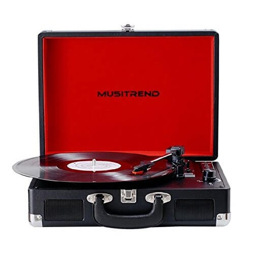 MUSITREND BLUETOOTH RECORD PLAYER review
