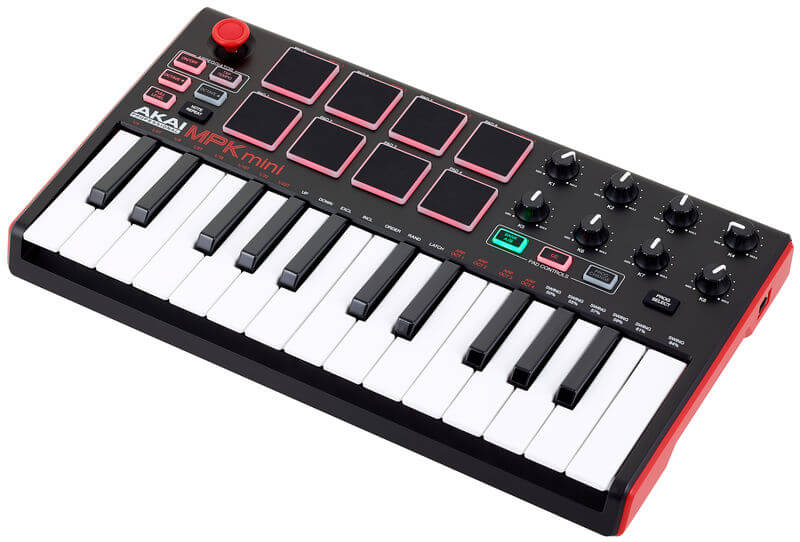 overview of Akai MPK mini mk2