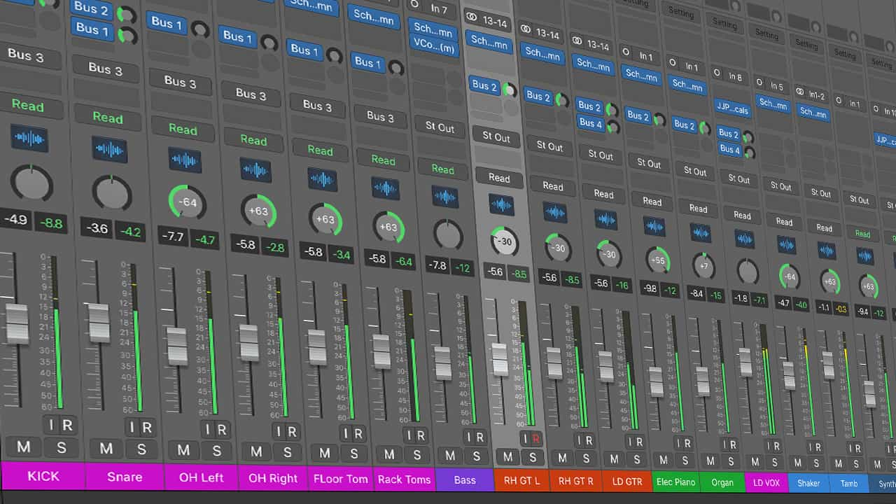 daw mixing software organize sessions ways better beginners mixes improve learn