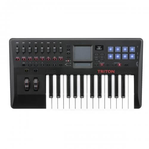 Korg Triton Taktile 25 - best midi keyboard for beginners for under 200