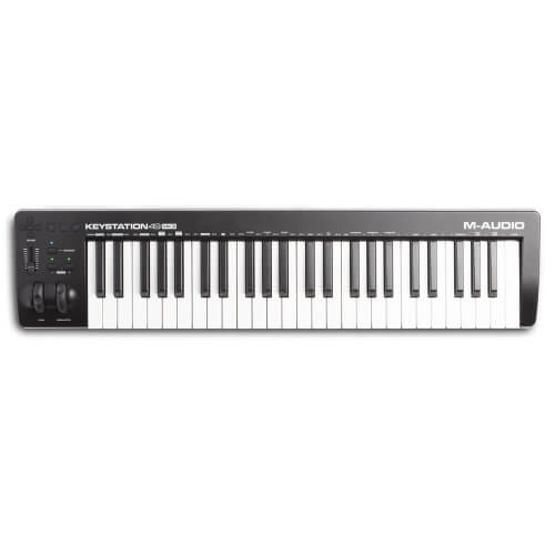 M-Audio Keystation 49 MKII - best midi keyboard for film scoring and worship under 200
