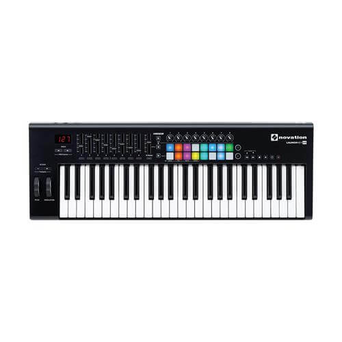 Novation Launchkey 49 - best midi pad keyboard controller under 200 for ableton, pro tools, logic pro, garageband