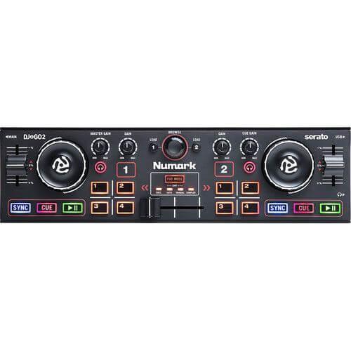 Numark DJ2GO2- best cheap dj controller for ipad under 100 dollars