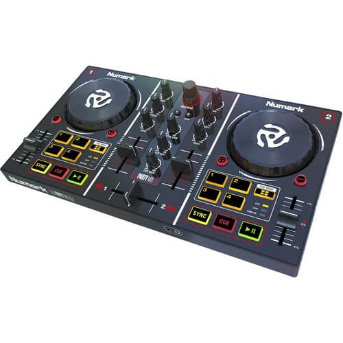 Numark Party Mix - best budget cheap starter dj controllers for beginners