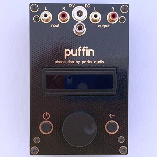 Puffin Phono DSP - best professional quality phono preamp under $500