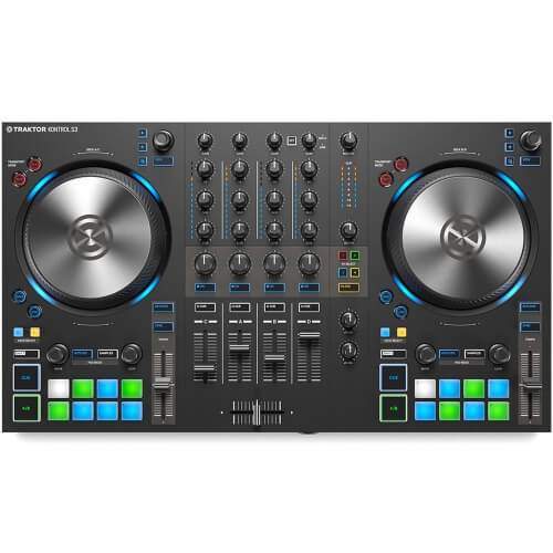 Traktor Kontrol S3 - best beginner dj controller for ios ipad and iphone