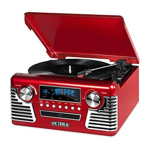 Victrola 50's Retro - best budget vintage turntables for audiophiles under 200