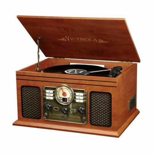 Victrola Nostalgic - best cheap vintage turntable under 200 for audiophiles