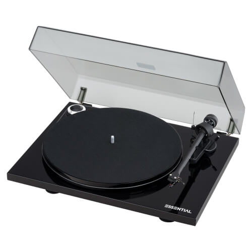 Pro-Ject Essential III Phono - best record player turntable all in one system with speakers